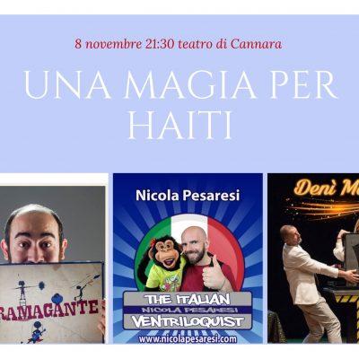 UNA MAGIA PER HAITI – Cannara (PG)
