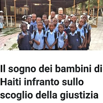 Il sogno dei bambini di Haiti