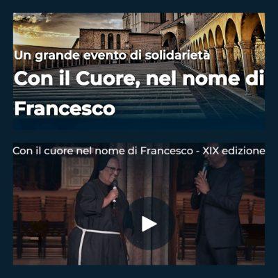 Con il Cuore, nel nome di Francesco