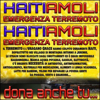 HAITIAMOLI – Emergenza Terremoto DONA ANCHE TU