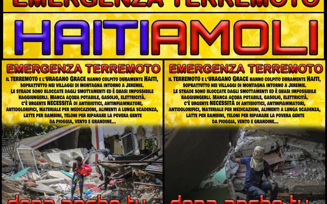 HAITIAMOLI – Emergenza Terremoto