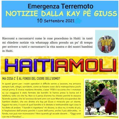 HAITIAMOLI – Emergenza Terremoto NOTIZIE