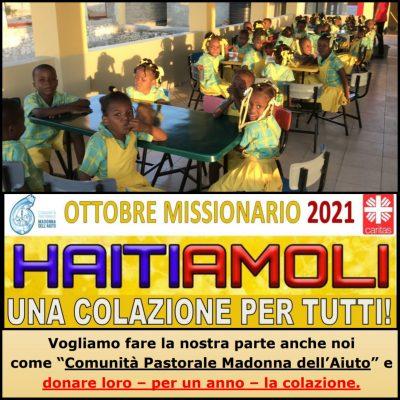 Ottobre Missionario: HAITIAMOLI UNA COLAZIONE PER TUTTI